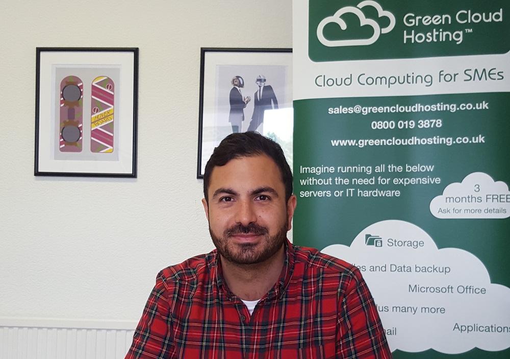 Kamran Maqbool, owner of green cloud hosting